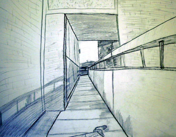 Not So Endless Sidewalk by DRayKenobi
