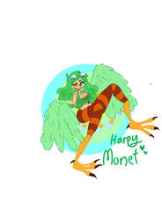 Harpy Monet by Spaceypear