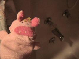 Miss. Piggy Bath Time by rootedinfaith3