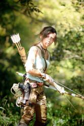 Lara Croft by Queen-Orange