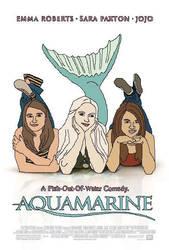 Aquamarine Movie Poster by jamielynnmason