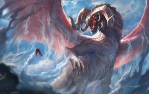 Mergho, Ruler of Clouds by nachan96