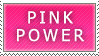 Stamp: Pink Power by Princesstekki