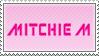 Mitchie M stamp by Princesstekki