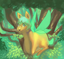 Forest Dweller by Galbinus