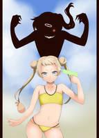 Dekomori Sanae DEATH! by napalmshell