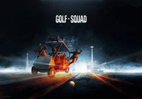 Golf Squad - Battlefield Funart by Zerrnichter