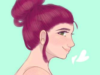 Sketchy redraw (cuz idk how to call it lol) by TamaraPastuchova