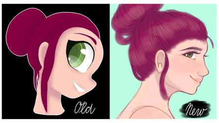 Have i improved?  by TamaraPastuchova