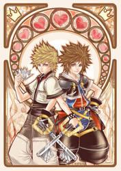 Zen - Kingdom Heart poster by siguredo