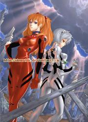 Zen - Rei and Asuka by siguredo