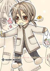 chibi - Headmaster Kaien Cross by siguredo