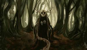 Little death of forest by AldSkar