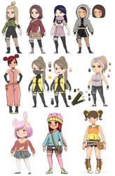 Adopts : Naruto - Pokemon - Bunny by liamsi4