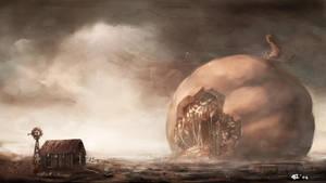 Undead Pumpkin by NgJas
