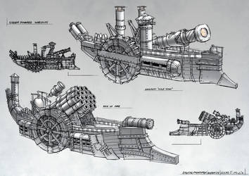 Steam Warships 2 by ortsmor