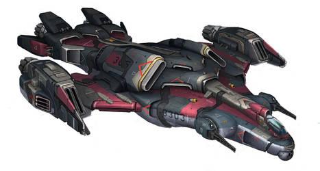 spaceship-001 by ortsmor