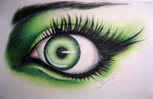 Green eye by Szura69
