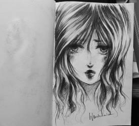 Day 2: face by Szura69