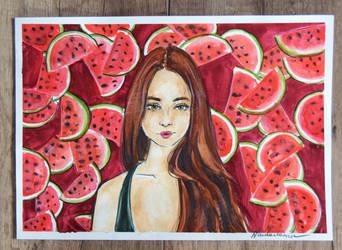 2. Watermelons by Szura69