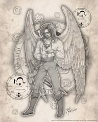 Archangel Jophiel by jayfrench