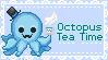 Octopus Tea Time by SerinaTrunstall