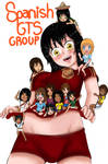 Giantess Spanish Group by 8SilentWarrior8