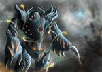 Blightsteel Colossus by WillMorenoArt