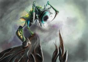 Phyrexian Revoker by WillMorenoArt