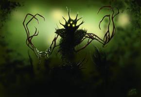 Reaper King Render by WillMorenoArt