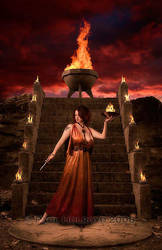 Guardian of the Flame by phphotoimages