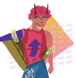 hey gorls i remade the lineless ari thing so its by EggPunsAreOverrated