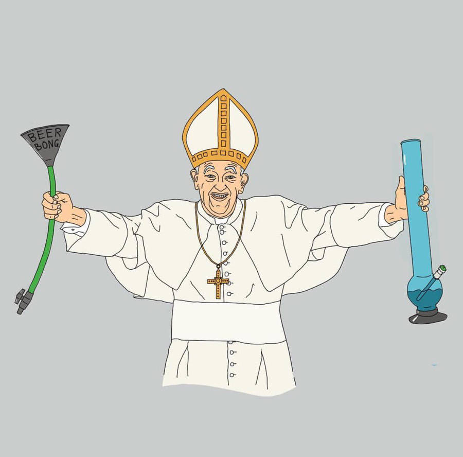 What happens in the Vatican stays in the Vatican  by atomicvector