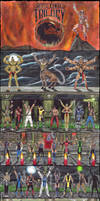 Mortal Kombat Trilogy poster by Edi-The-Mad