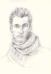D.G Pencil Sketch by FVAD