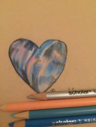 Galaxy heart by whiteseal13