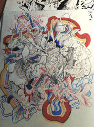 Squiggle Mess by PxMxRxCx