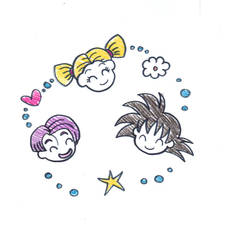 (Dragon Ball Z) The Little Ones by gurl-luvs-sooshi