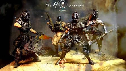 Cyborg Corps by Calvin's Custom 1:18 : 4 Horsemen by CalvinsCustom