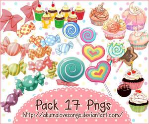 Pack 17 pngs by akumaLoveSongs