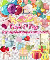 Pack 21 pngs by akumaLoveSongs