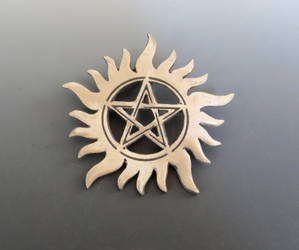 Supernatural Tattoo Pendant by Peaceofshine