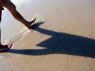 Beach Stride by Kaeawc