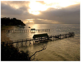 Empty Piers by samueljay by crikey