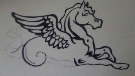 Waterhorse by magarven