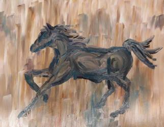 Tiny Horse by magarven