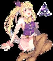 Lucy Heartfilia Fairy Tail Render #9 by celestialwizzard