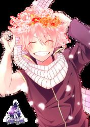 Natsu Dragneel|Fairy Tail Render #5 by celestialwizzard