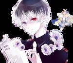 Sasaki Haise|Tokyo Ghoul: re Render by celestialwizzard