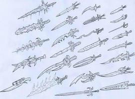 Swords by SoulBrake